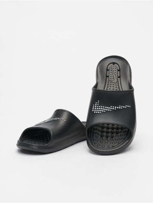 Nike Slipper/Sandaal Victori One Shower Slide zwart