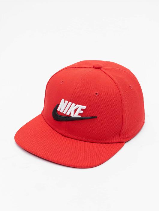 Nike Snapback Futura 4 Fitted èervená