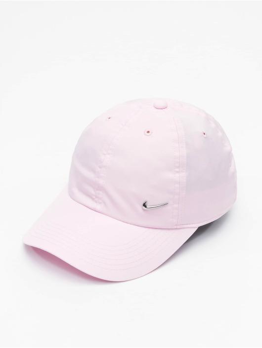 Nike Snapback Cap Metal Swoosh rose