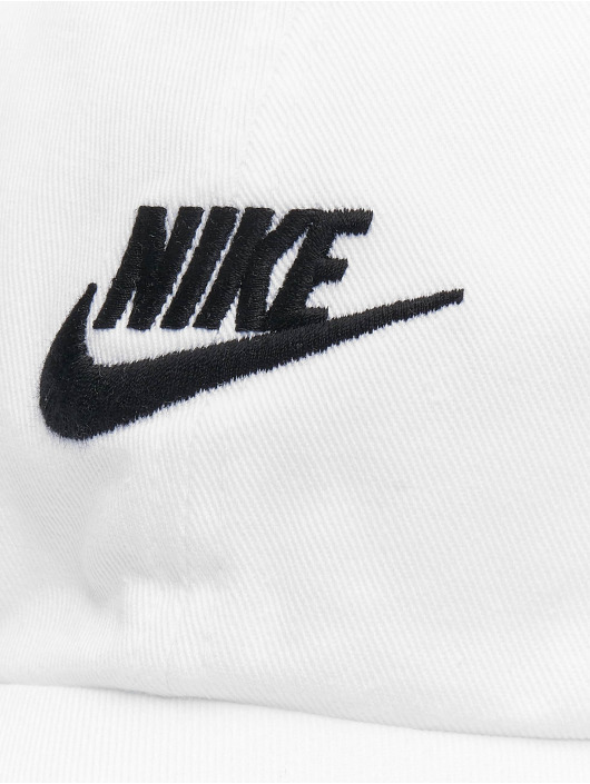 Nike Snapback Caps H86 Futura Washed bialy