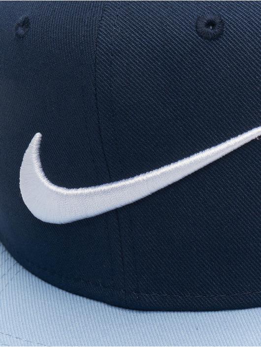 Nike Snapback Caps Pro Swoosh Classic blå