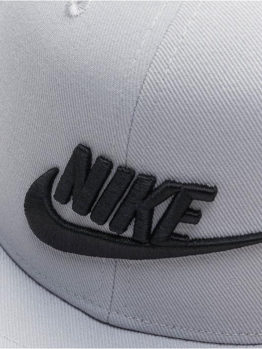 Nike Snapback Caps U Nsw Df Pro Futura harmaa