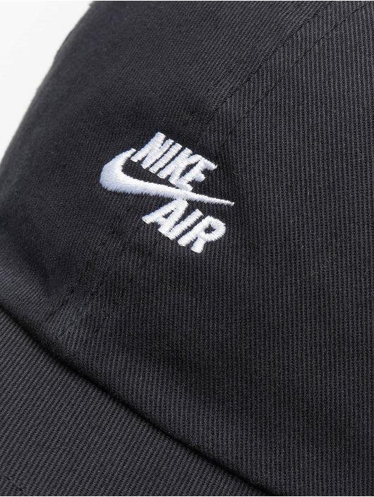 Nike Snapback Caps Air Heritage 86 musta
