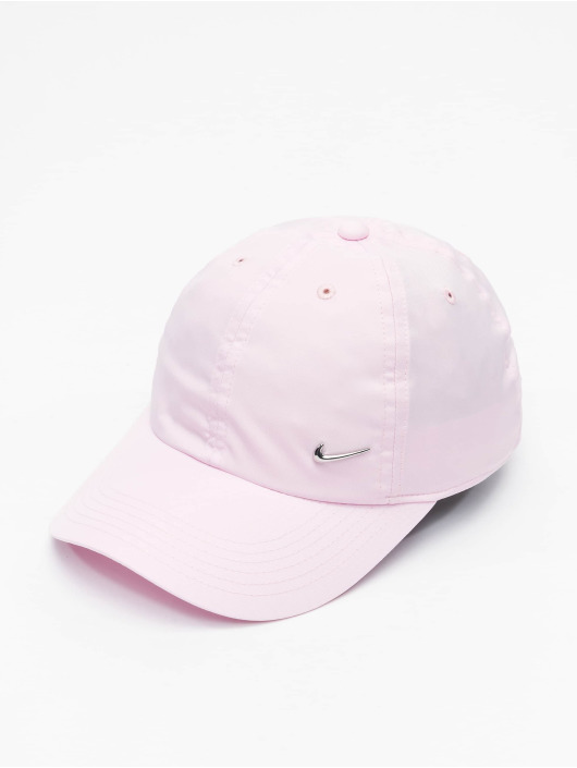 Nike Snapback Caps Metal Swoosh rózowy