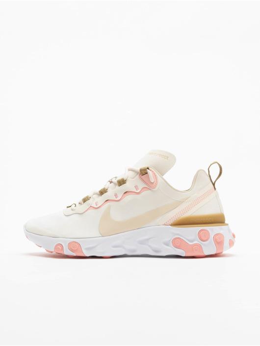 Nike React Element 55 Sneakers PhantomLt Orewood BrnParachute Beige