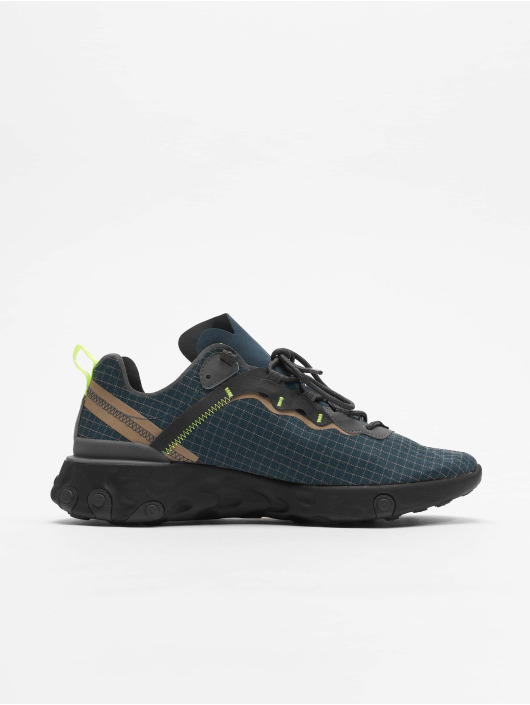 Nike Sneaker React Element 55 blau