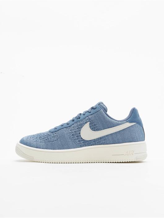Nike Sneaker Air Force 1 Flyknit 2. blau