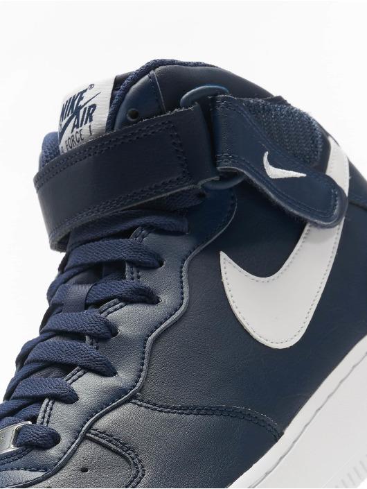 Nike Sneaker Air Force 1 Mid '07 AN20 blau