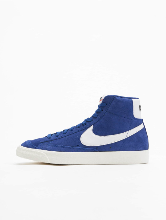 Nike Sneaker Blazer Mid '77 Suede blau