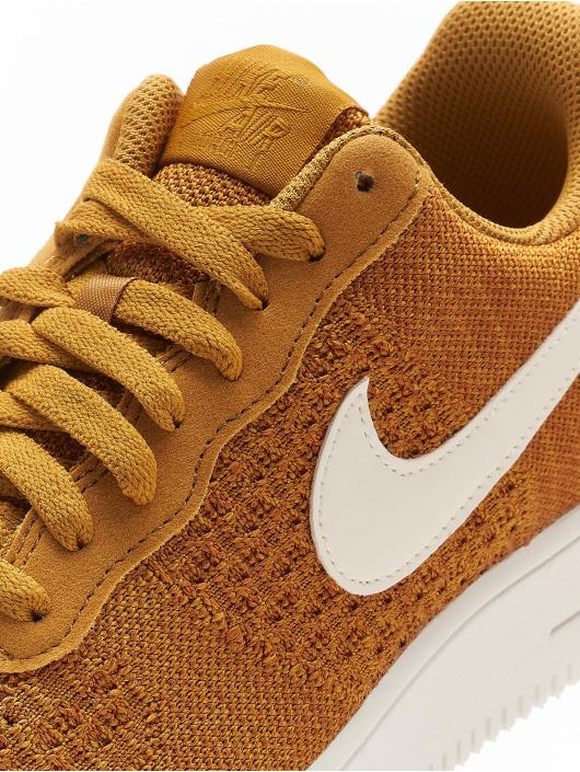 Nike Sneaker Air Force 1 Flyknit 2.0 goldfarben