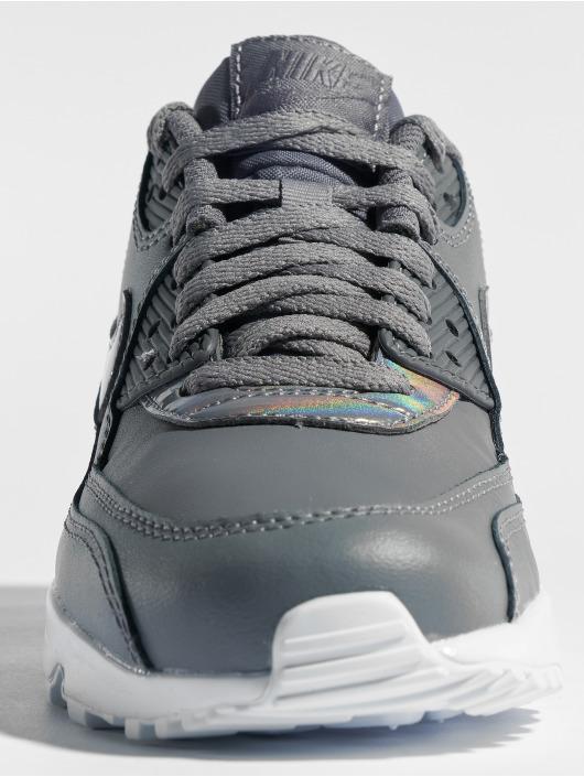 Nike Sneaker Air Max 90 Leather (GS) grau