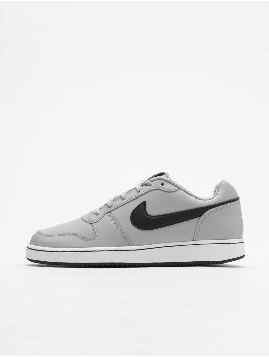 oben Nike Ebernon Low Sneakers Wolf GreyBlackWhite