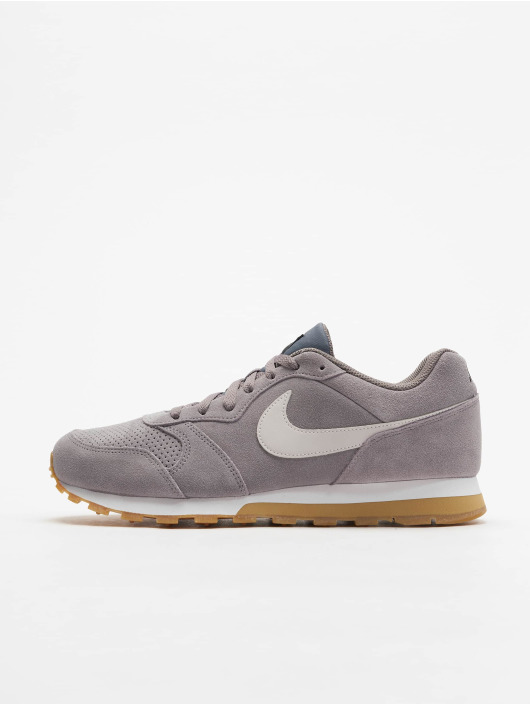 new product d7cd5 b7080 ... Nike Sneaker Mid Runner 2 Suede grau ...