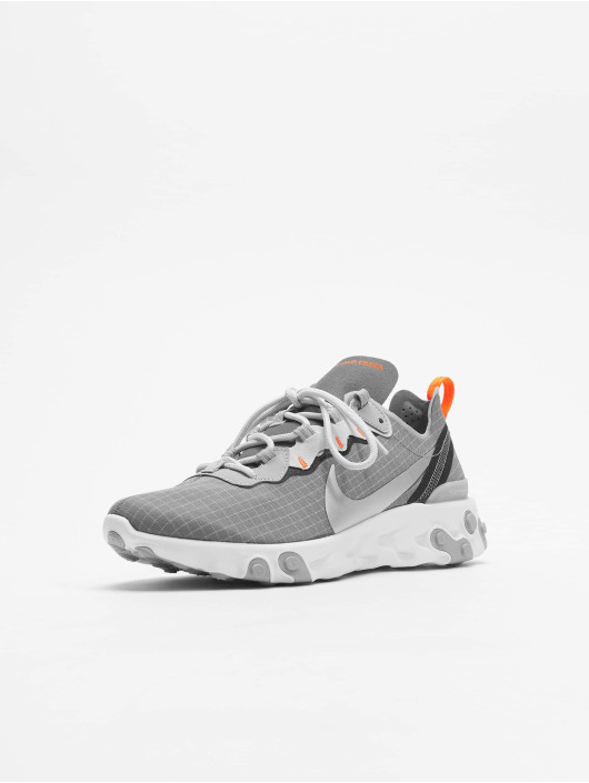 Nike Sneaker React Element 55 grau