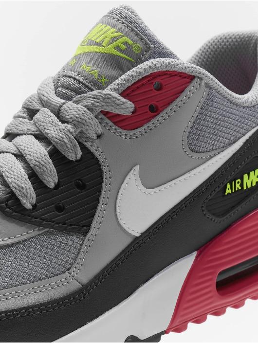 Nike Air Max 90 Mesh (GS) Sneakers Wolf GreyWhiteRush PinkVolt