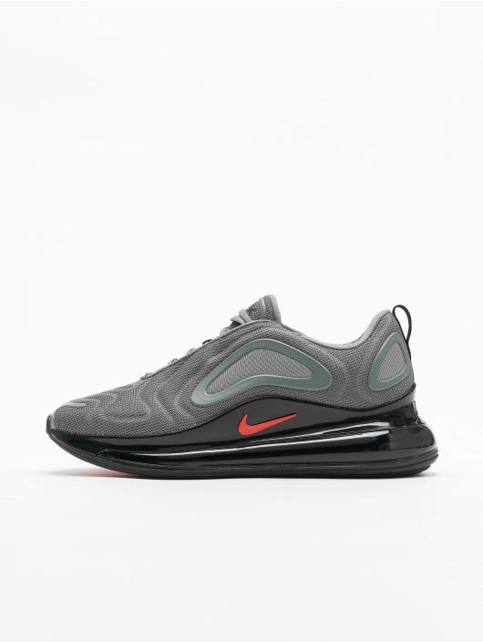 Nike Air Max 720 Sneakers Cool Grey/Bright Crimson/Black