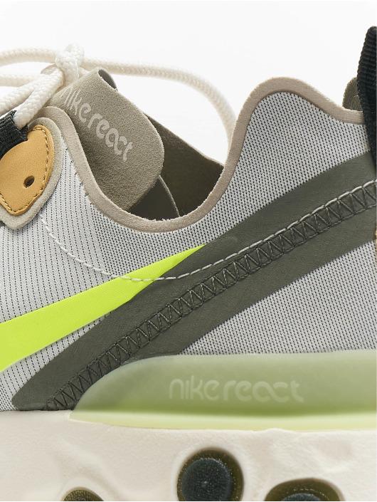 Nike sneaker React Element 55 grijs