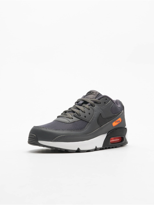 Nike Air Max 90 Sneakers Iron Grey/Black/Total Orange/White