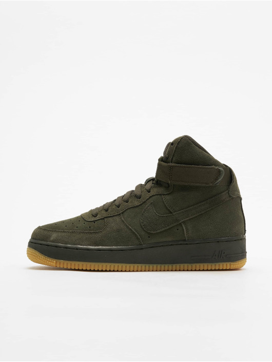 Nike Air Force 1 High LV8 (GS) Sneakers SequoiaSequoiaGum Light Brown