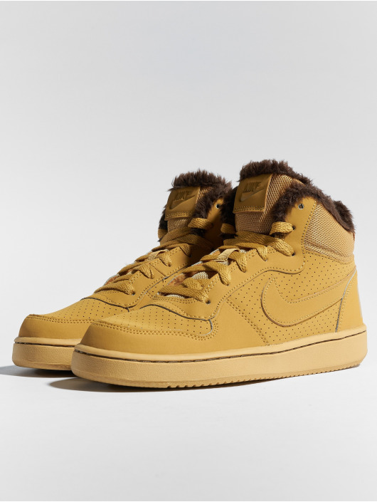 Nike Sneaker Court Borough Mid marrone