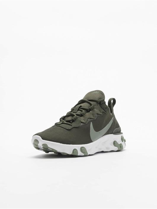 Nike sneaker React Element 55 olijfgroen