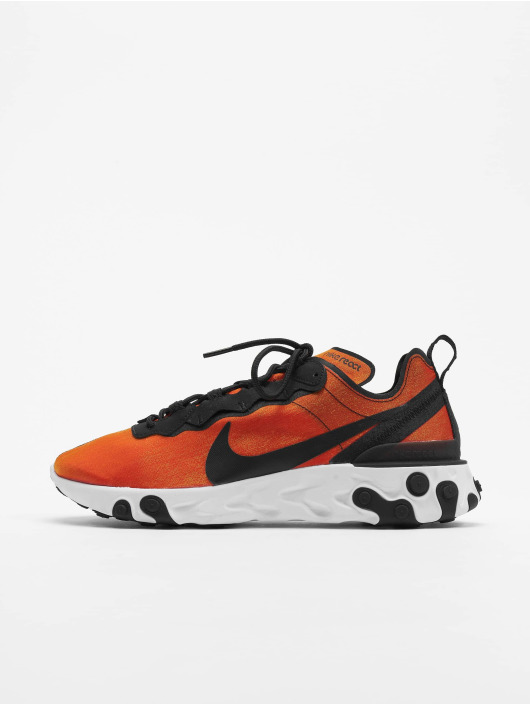 Nike React Element 55 Premium SU19 Sneakers BlackBlackTour YellowWhite