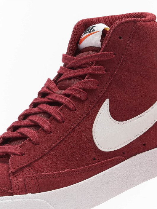 Nike Sneaker Mid '77 Suede rosso