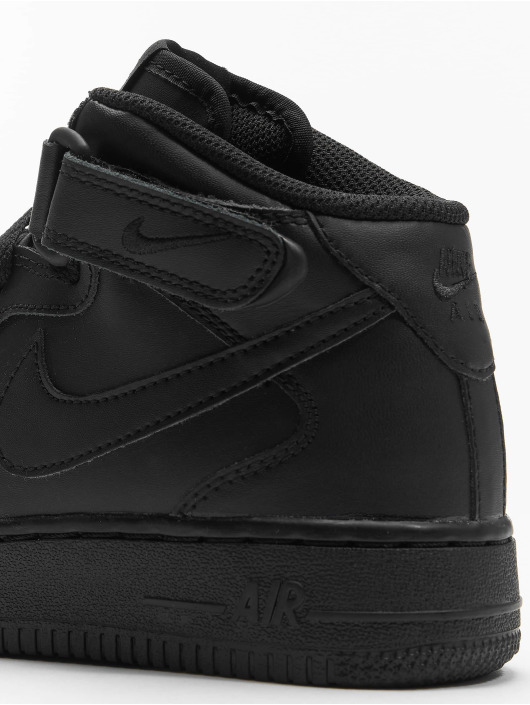 Nike Sneaker Air Force 1 Mid Kids Basketball schwarz
