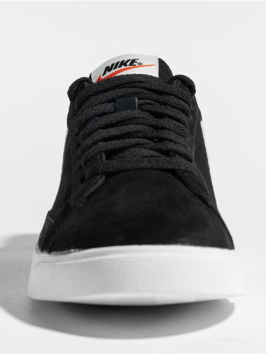 Nike Sneaker Blazer Low Suede schwarz