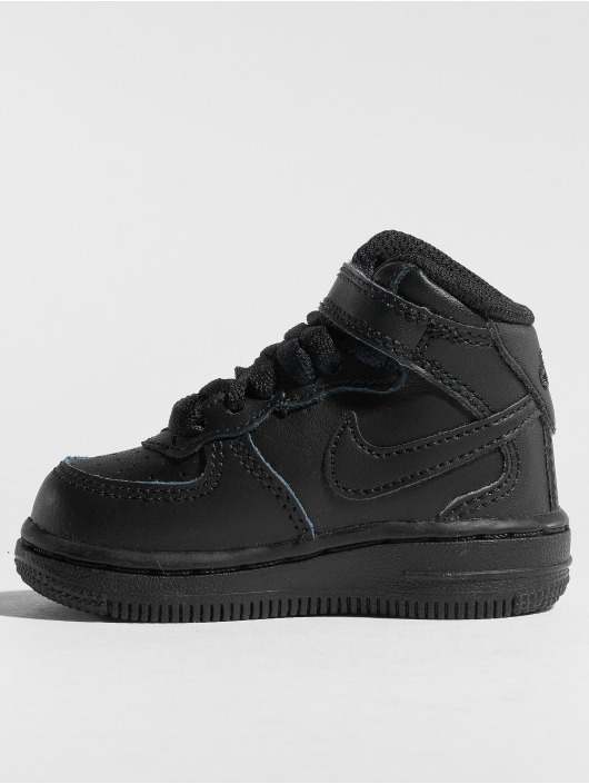 shoes for cheap online shop good quality Nike Air Force 1 Mid TD Sneakers Black/Black
