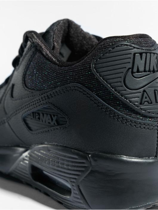 Nike Sneaker Air Max 90 SE Mesh (GS) schwarz