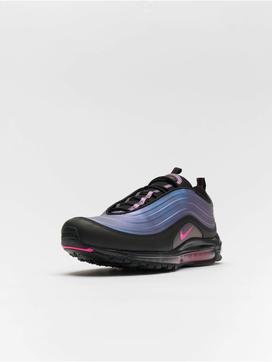 new concept 743f4 4dd78 Nike Air Max 97 LX Sneakers Black/Laser Fuchsia/Thunder Grey