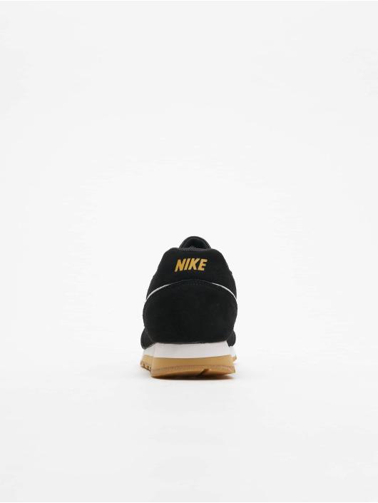 Nike Sneaker Mid Runner 2 Suede schwarz