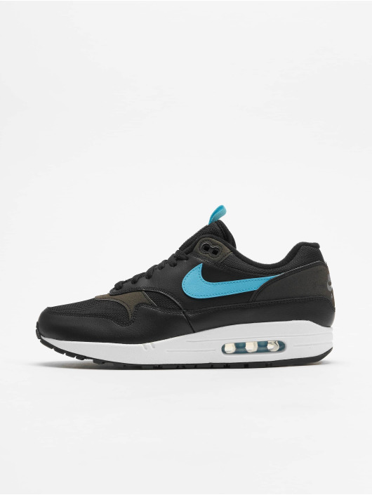 on sale latest fashion save off Nike Air Max 1 SE Low Top Sneakers Black/Blue Fury