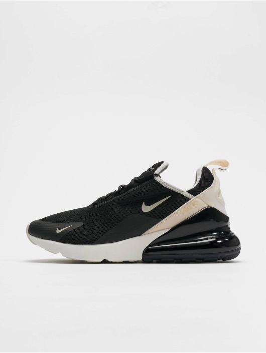 Nike W Air Max 270 Sneakers Low Top BlackLight BoneLight Bone