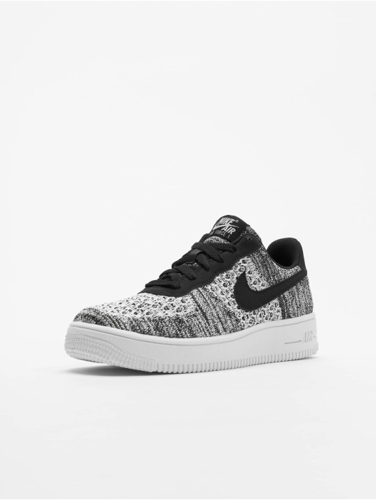 save off 3c6f6 f84a1 Nike Air Force 1 Flyknit 2.0 (GS) Sneakers Black/Pure Platinum/White/White