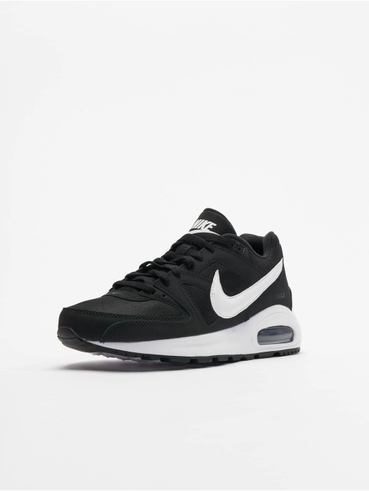 Nike Herren Sneakers Air Max Command Leather Schwarz Outlet