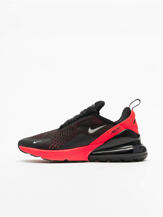 Nike Air Max 270 Sneakers BlackMetallic SilvernBright Crimson