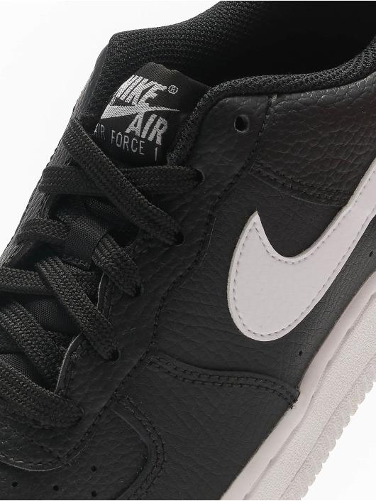 Nike Sneaker Air Force 1 (GS) schwarz