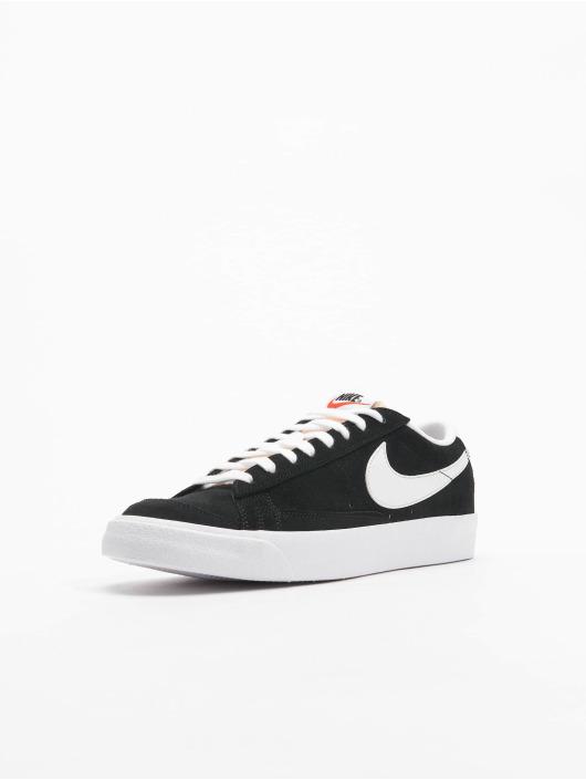Nike Sneaker Blazer Low '77 Suede schwarz