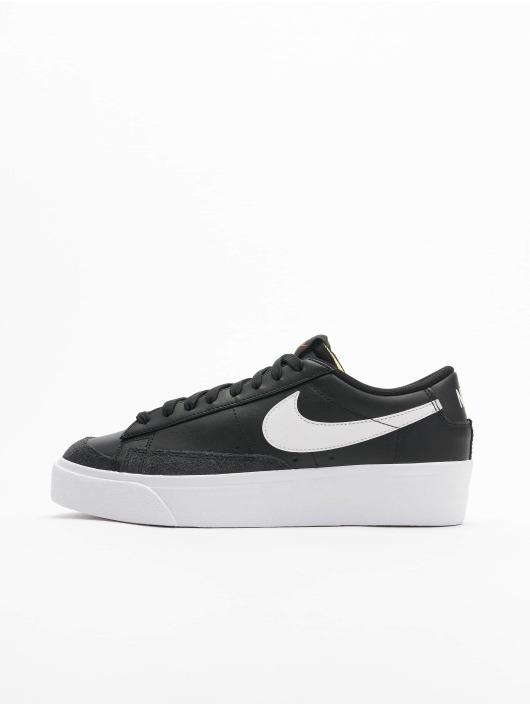 Nike Sneaker Blazer Low Platform schwarz