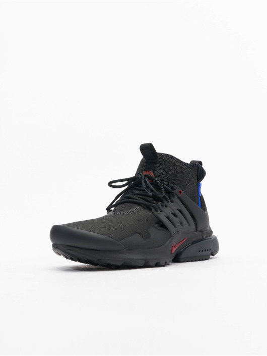 Nike Sneaker Air Presto Mid Utility schwarz