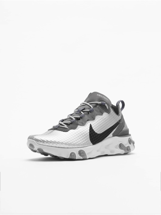 Nike Sneaker React Element 55 Premium silberfarben