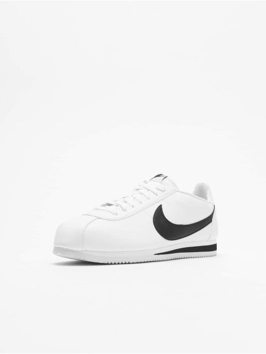 Classic Cortez Nike Leather Sneakers Whiteblack XOZPikuT