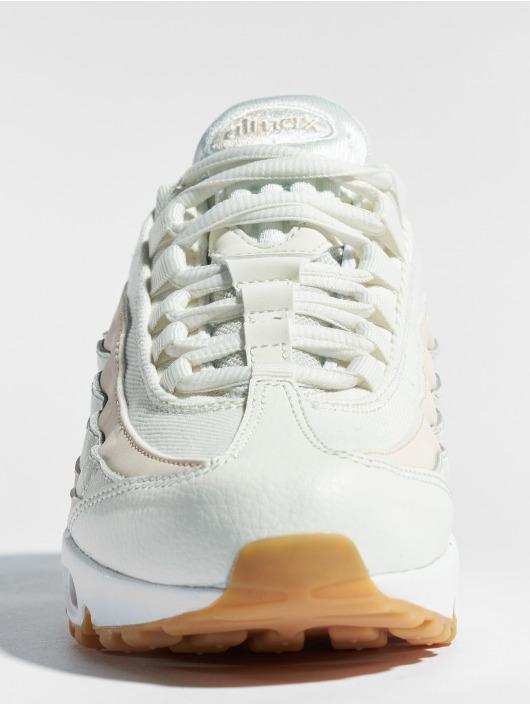 Nike Damen Turnschuhe Air Max 95 in weiß 467366 Sonderkauf