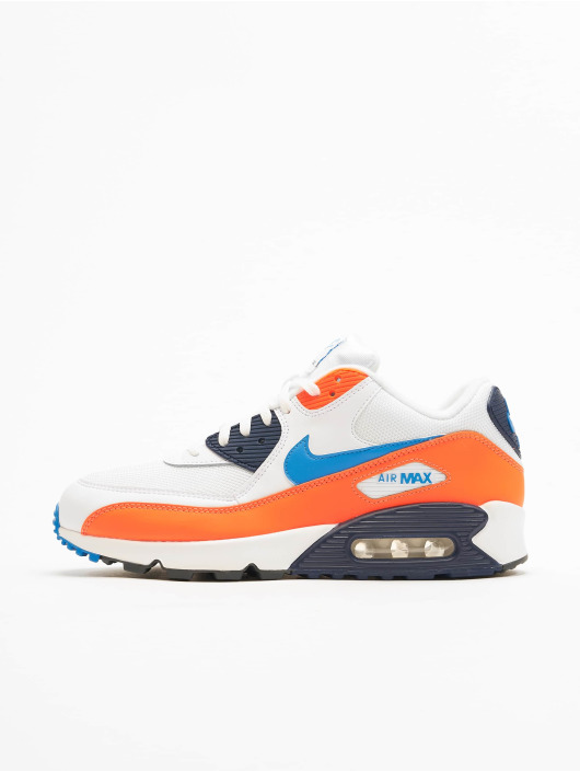 Nike Air Max 90 Essential Sneakers WhitePhoto BlueTotal Orange