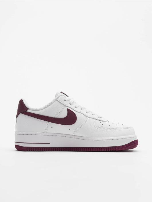 Nike Air Force 1 07 Sneakers WhiteBordeaux