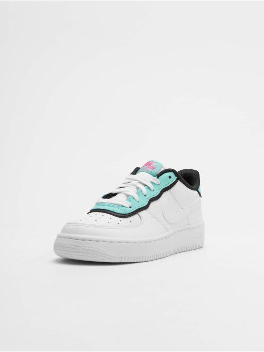 Nike Air Force 1 LV8 1 DBL GS Sneakers WhiteWhiteLight AquaBlack