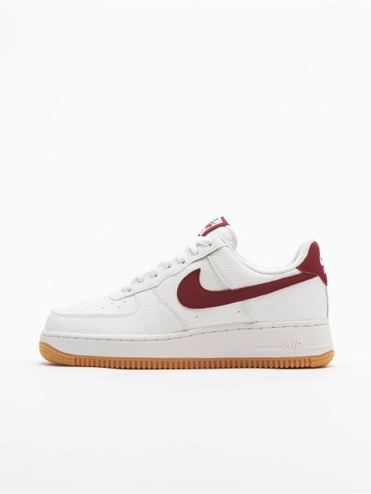 Nike Air Force 1 '07 2 Sneakers WhiteTeam RedBlue VoidGum Med Brown