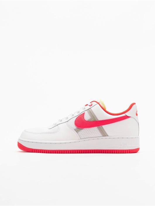 Nike Air Force 1 '07 LV8 1 Sneakers WhiteBright CrimsonBarely Volt